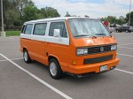 My 1990 VW Vanagon prior to any modifications.